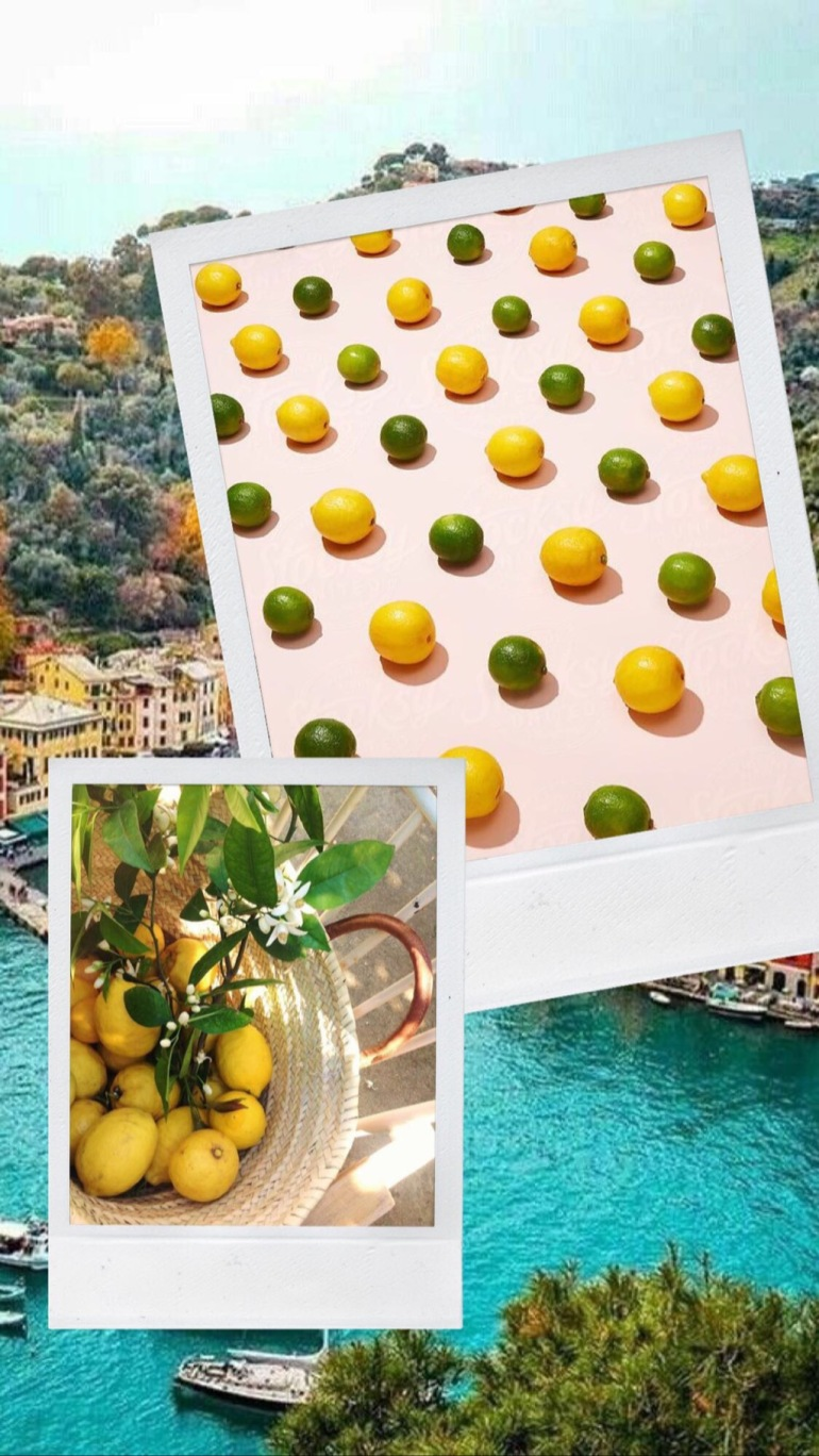 Amy Rose Living monday mood moodboard limoncello lemon